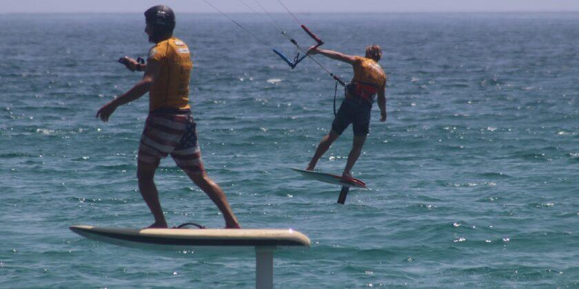 Wie Lernt Man Kitefoilen | Tarifa Spanien