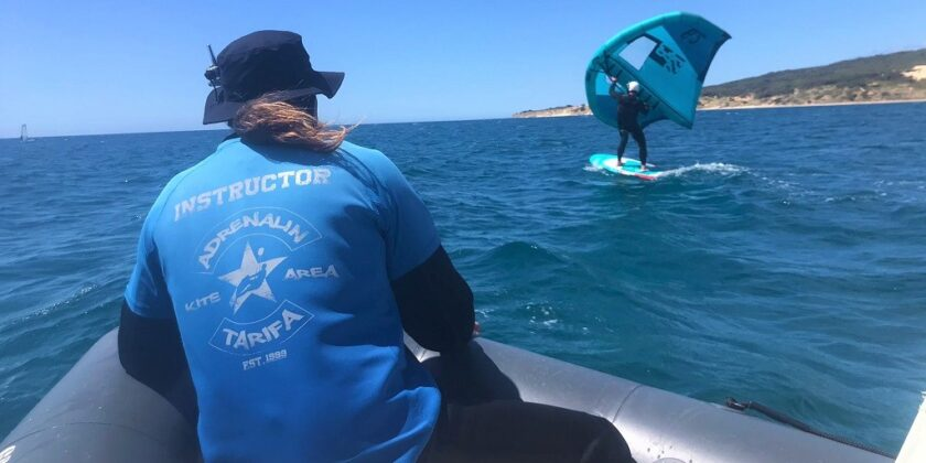 Kitesurf And Wing Foil Lessons Accompanied By An Instructor In A Boat